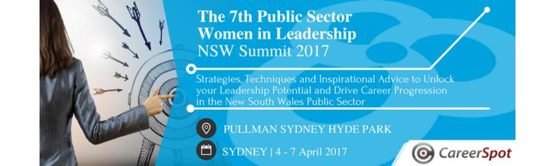 The 7th Public Sector Women in Leadership NSW Summit 2017