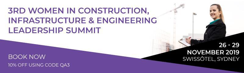 3rd Women in Construction, Infrastructure & Engineering Leadership Summit