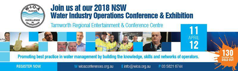 12th WIOA NSW Water Industry Operations Conference and Exhibition