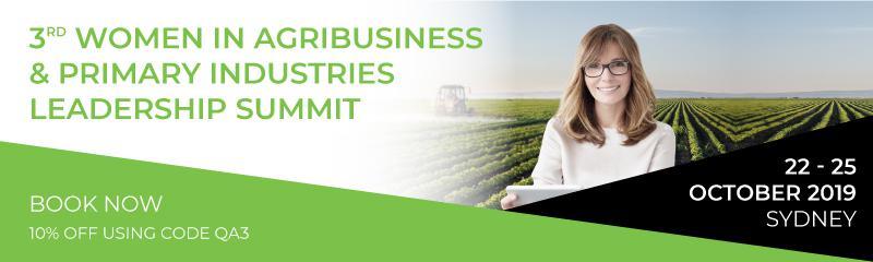 3rd Women in Agribusiness & Primary Industries Leadership Summit