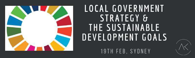 Local Government Strategy & the SDG's