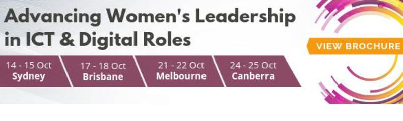 Advancing Women's Leadership in ICT & Digital Roles - Two Day Masterclass