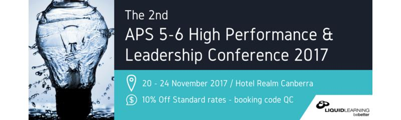 2nd APS 5-6 High Performance & Leadership Conference 2017